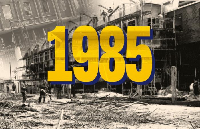 35 éve adták át a régi főtribünt
