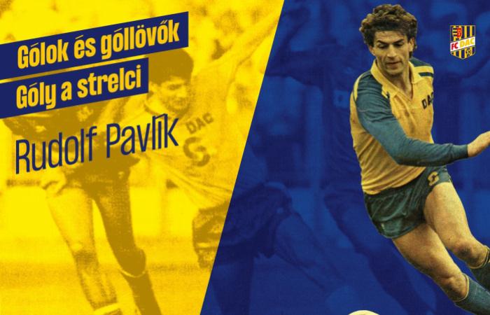 A legkedvesebb DAC-gólom: Rudolf Pavlík