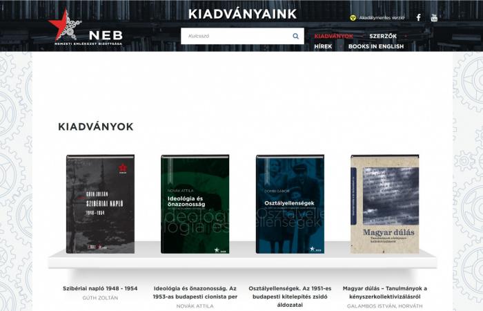 Ingyen letölthetőek a Nemzeti Emlékezet Bizottsága könyvei