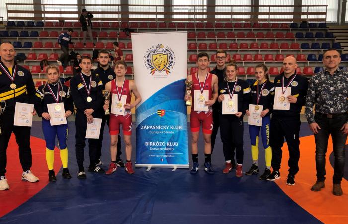 Öt aranyérem a szabadfogású junior szlovák bajnokságon!