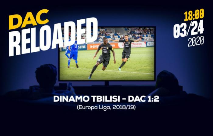 Újratöltve: nézzük vissza a Dinamo Tbiliszi-DAC (1:2) mérkőzést!