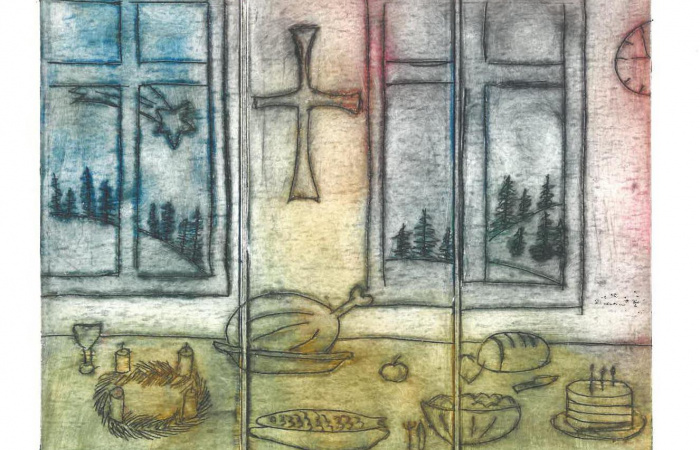 Téli házaló szokások – A Hagyományok Háza karácsonyi rajzpályázata