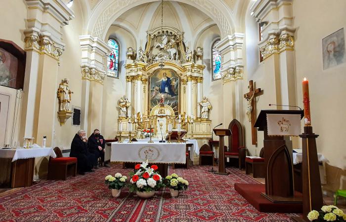 Búcsúi online szentmise Szent György ünnepén
