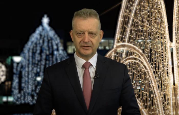 Hájos Zoltán polgármester újévi köszöntője - VIDEÓ