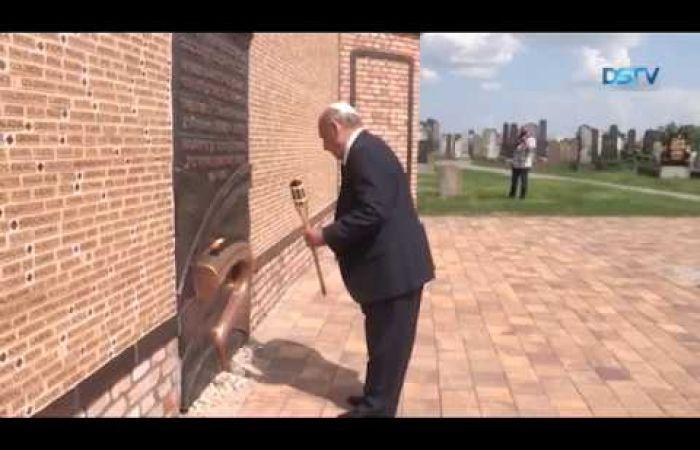 Embedded thumbnail for A 74 évvel ezelőtti szomorú történésekre emlékeztek a zsidó temetőben