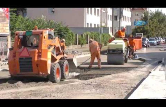 Embedded thumbnail for Megújul Dunaszerdahely központi körforgalmi csomópontja