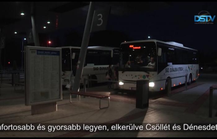 Embedded thumbnail for Az új buszjárat a Pozsonyba való gyors eljutást szeretné biztosítani