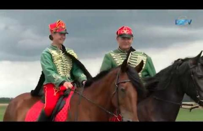 Embedded thumbnail for Izgalmas lovas futamok jellemezték a IV. Felvidéki Vágtát