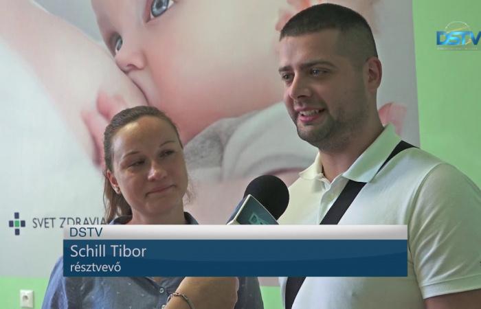 Embedded thumbnail for Ismét szülés előtti szaktanácsadáson vehettek részt a leendő anyukák