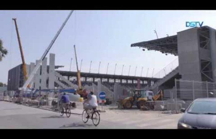 Embedded thumbnail for Befejezés előtt a stadion és az akadémia építése