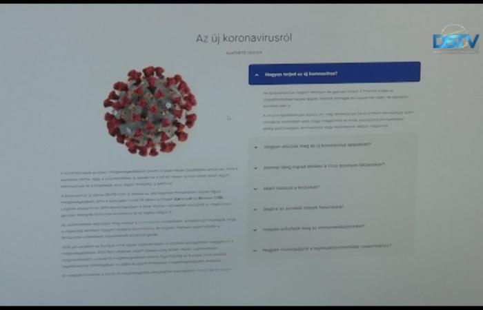 Embedded thumbnail for Már magyar nyelven is tájékoztatnak a koronavírusról