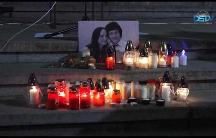 Embedded thumbnail for Dunaszerdahelyen is a meggyilkolt újságíróra emlékeztek