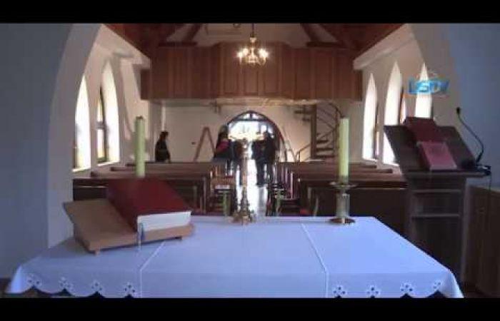 Embedded thumbnail for Széles körű összefogással új karzat épült a sikabonyi templomban