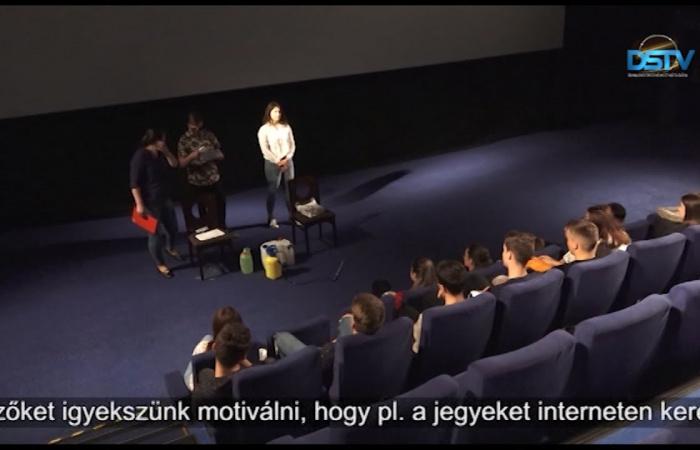 Embedded thumbnail for Már várja a látogatókat a dunaszerdahelyi mozi