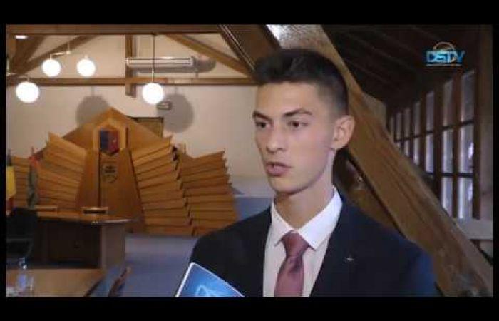 Embedded thumbnail for Nagy Péter lett Dunaszerdahely kilencedik diákpolgármestere