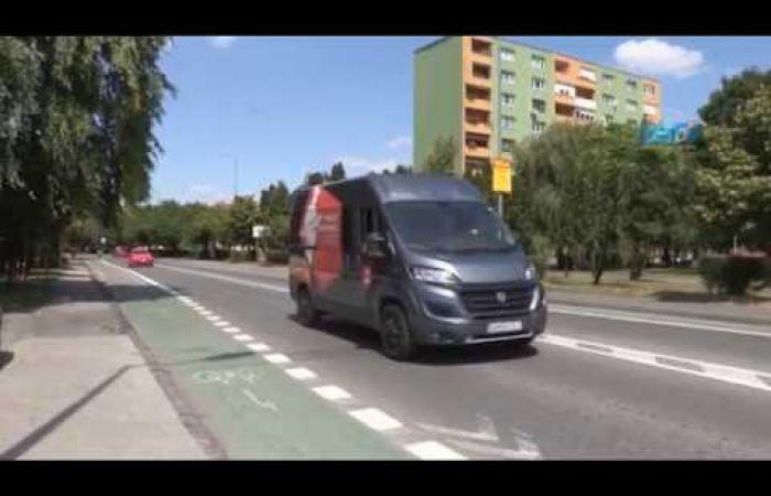 Embedded thumbnail for Elkerülő úttal és kerékpársávokkal bővül Dunaszerdahely közlekedési rendszere