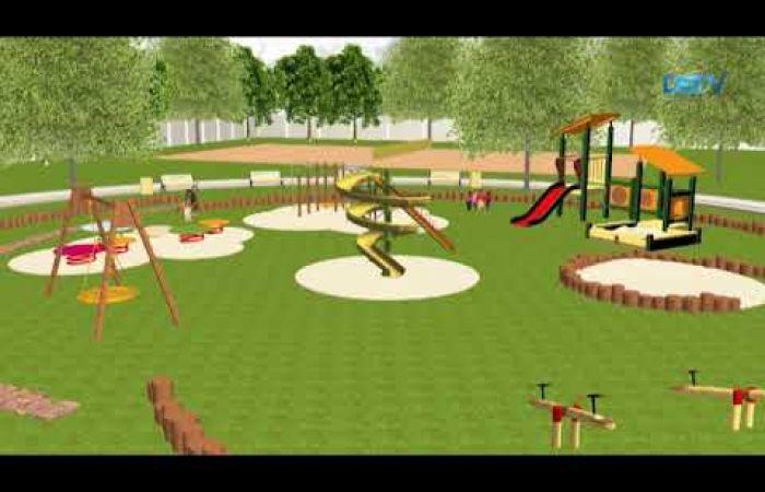 Embedded thumbnail for A labdarúgópálya helyére tervezett pihenőpark szolgáltatta a fő témát