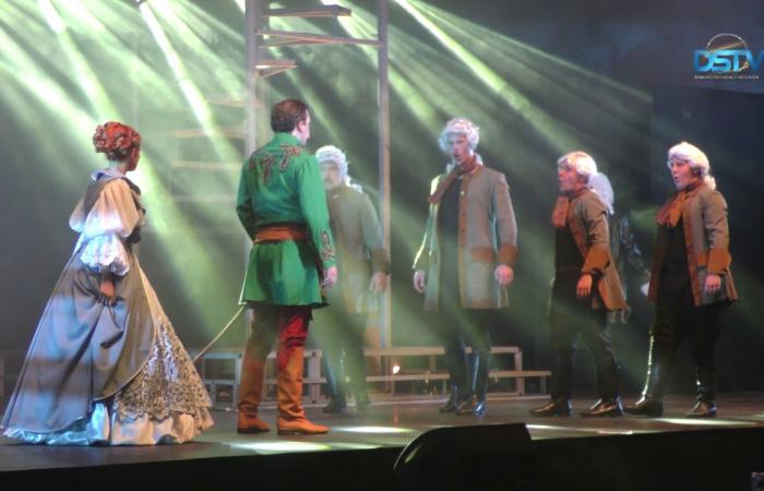 Embedded thumbnail for Dunaszerdahelyen volt a rockopera felvidéki premierje