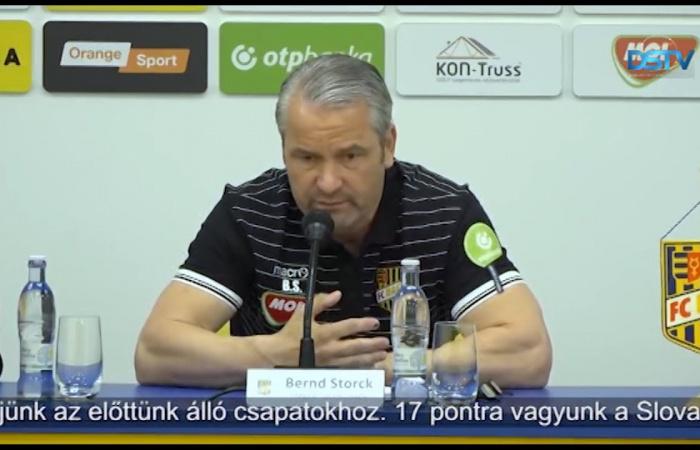 Embedded thumbnail for Bernd Storck elsődleges célja a kupagyőzelem
