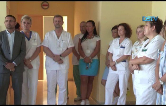 Embedded thumbnail for Újdonságok a kórház nőgyógyászati és szülészeti osztályán