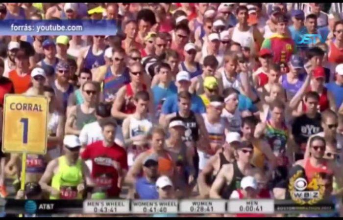 Embedded thumbnail for A csallóközi sportember teljesítette a bostoni maratont