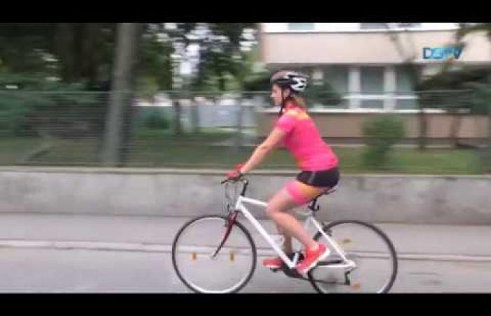 Embedded thumbnail for Idén is sokan kerékpároznak munkába városunkban