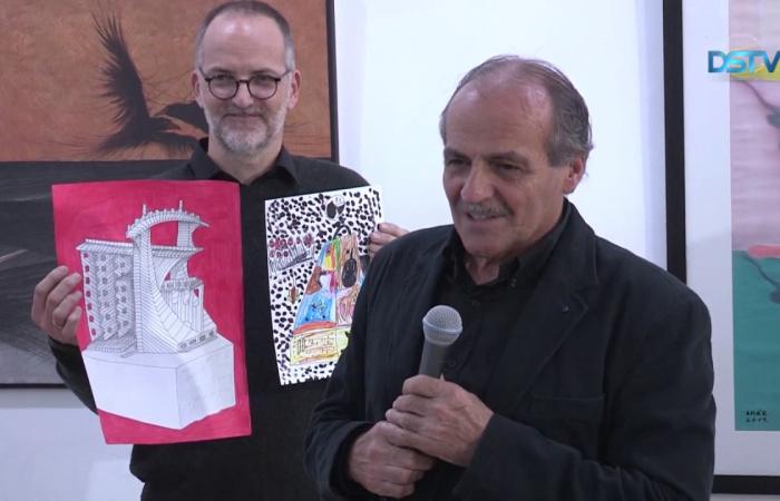 Embedded thumbnail for Lipcsey György szobrászművész betekintést engedett a kulisszák mögé is