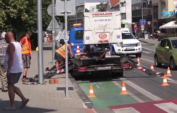 Embedded thumbnail for Rövidesen működik az új Fő utcai közlekedési jelzőlámpa