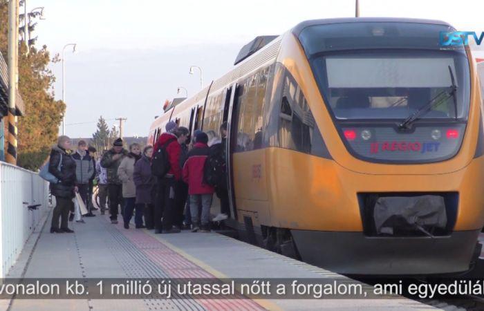 Embedded thumbnail for A vonatokon tapasztalható zsúfoltság enyhítése a cél
