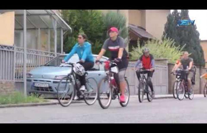 Embedded thumbnail for Ezúttal 120-an népszerűsítették a kerékpáros közlekedést