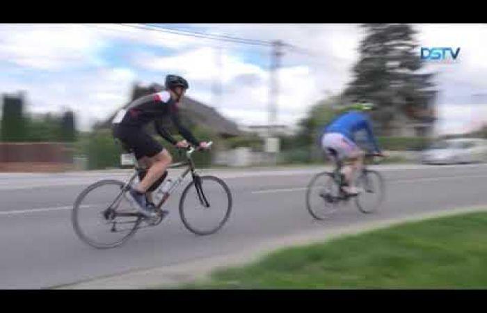 Embedded thumbnail for Élénk érdeklődés kísérte a csallóközi kerékpárversenyt