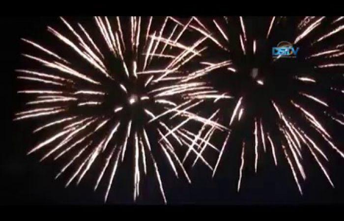 Embedded thumbnail for Színes óévbúcsúztató és újévköszöntő a téren