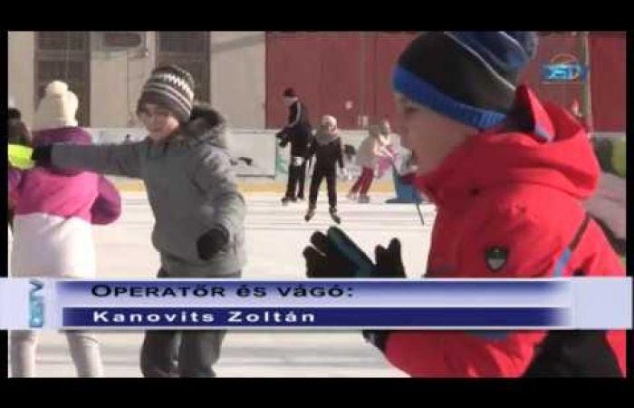 Embedded thumbnail for A műjégpálya december 7-től várja a korcsolyázókat