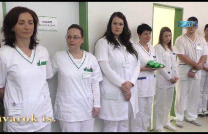 Embedded thumbnail for Átadták az új rehabilitációs és fizioterápiás osztályt