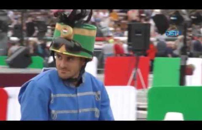 Embedded thumbnail for Felvidéki lovasok is indultak a jubiláló Nemzeti Vágtán