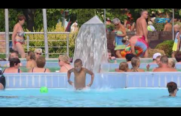 Embedded thumbnail for Idén nyáron is sokan keresték a felfrissülést a termálfürdőben