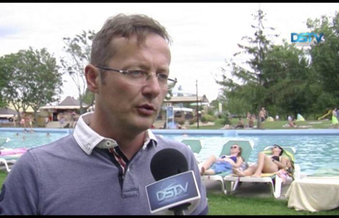Embedded thumbnail for Nyári pezsgés a dunaszerdahelyi termálfürdőben