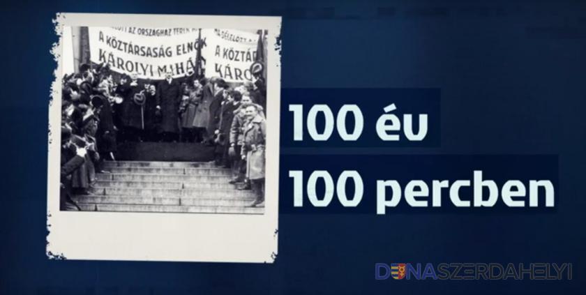 Nézze meg a 100 év 100 percben videóit!