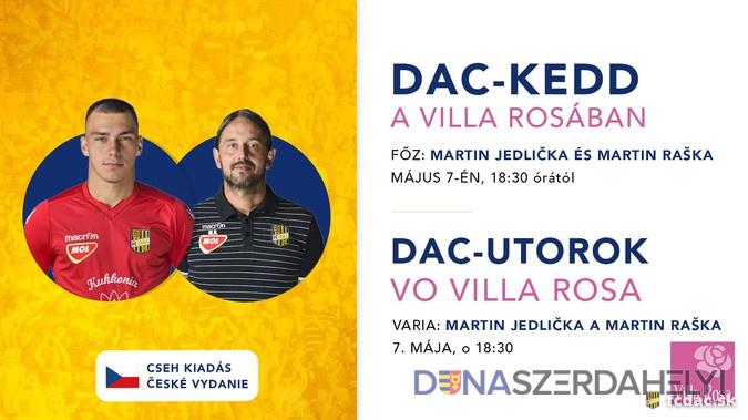 Cseh ízekkel jön a DAC-kedd a Villa Rosában