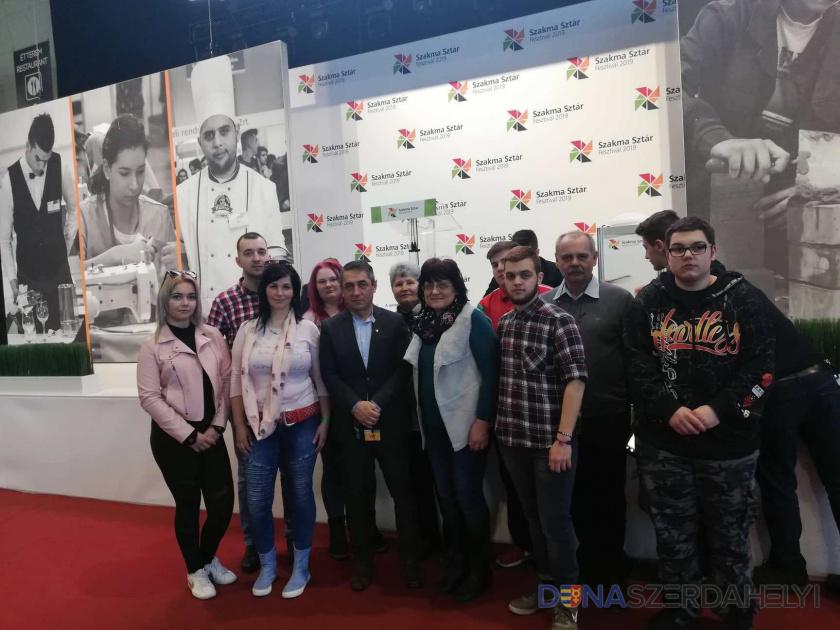 A szakközépiskola is részt vett a SZAKMA SZTÁR 2019 országos döntőjén