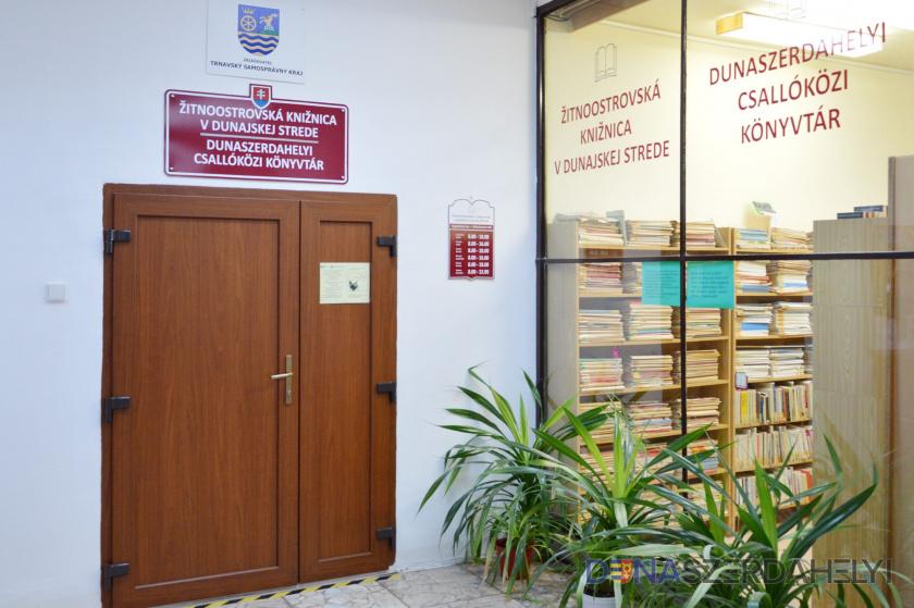 Újra nyit a Dunaszerdahelyi Csallóközi Könyvtár
