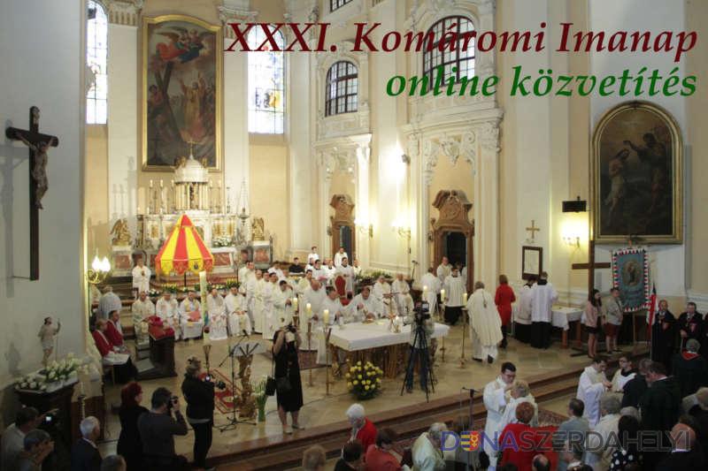 Magyar főpásztorért imádkoznak – április 25-én lesz a XXXII. Komáromi Imanap
