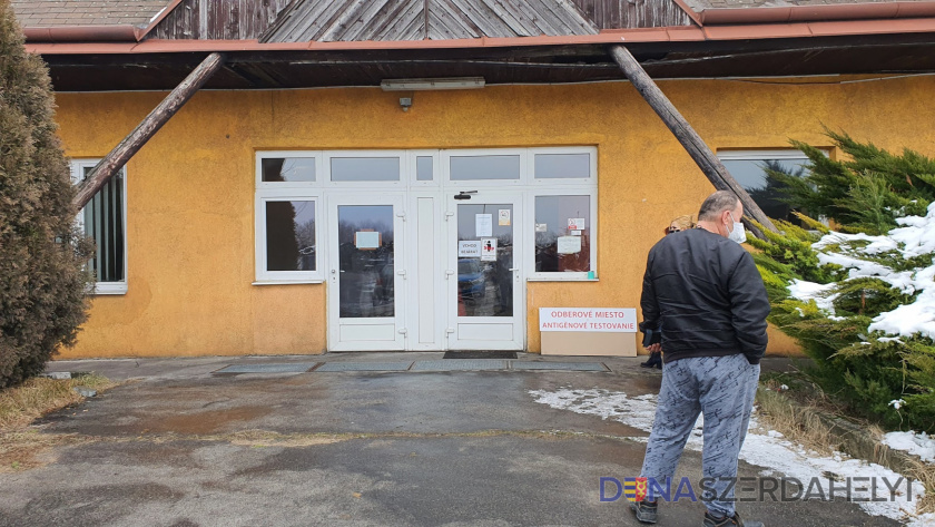 Antigéntesztelés Dunaszerdahelyen – hétközben és hétvégén is