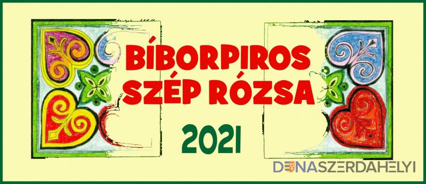 Bíborpiros szép rózsa 2021 – felhívás