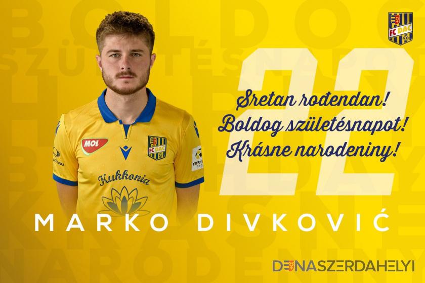 Boldog szülinapot, Divko!