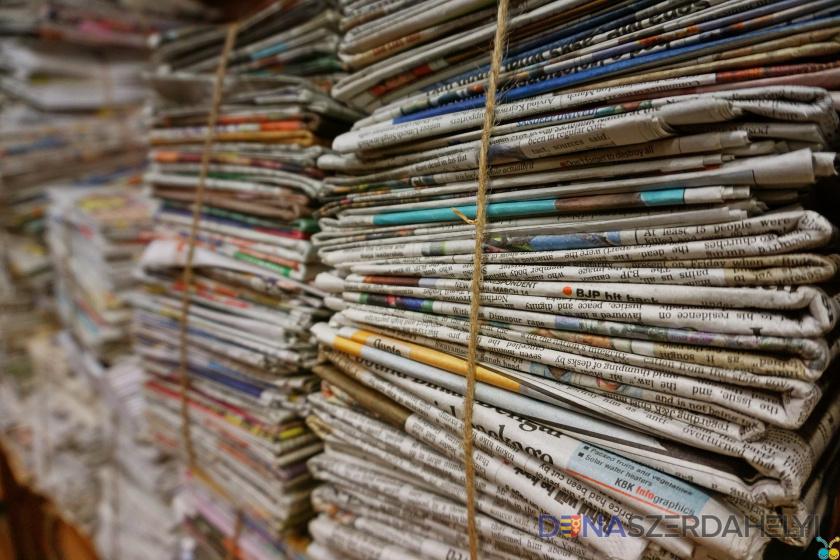 Holnap viszik el a ma el nem szállított papírhulladékot
