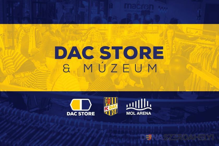 A DAC store zárva marad, a webshop viszont változatlanul működik