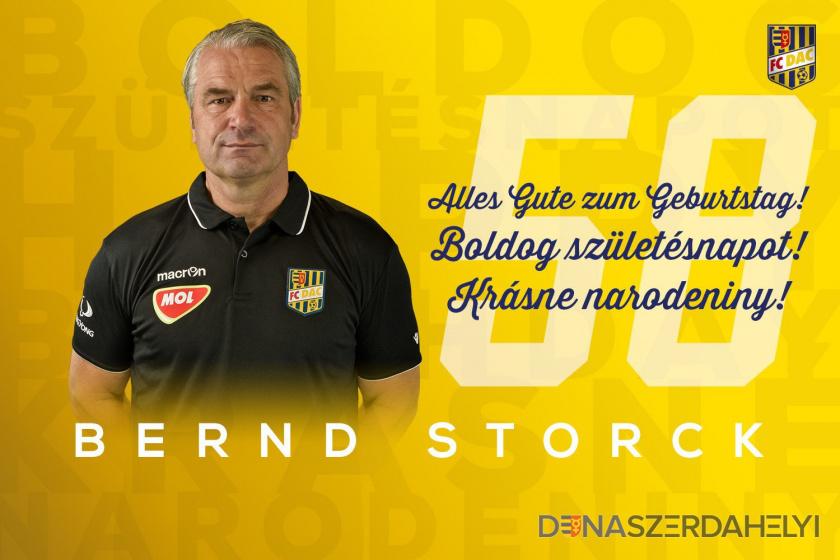 Boldog szülinapot, Bernd Storck!