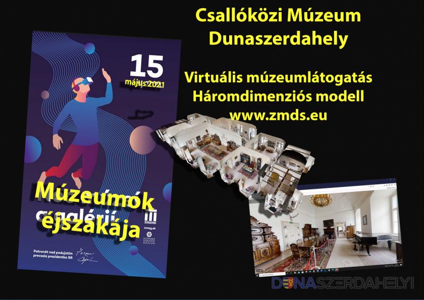 Járja be a virtuális térben a Sárga kastélyt a múzeumok éjszakáján!