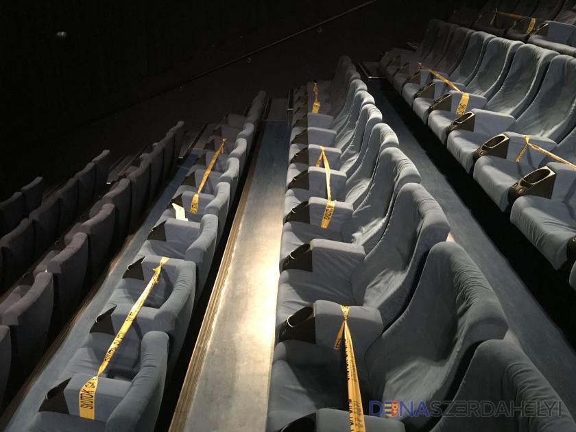 A jobb besorolású járásokban megnyílhatnak a mozik